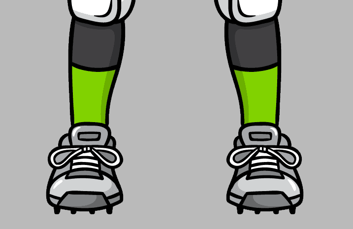 Football game cleats - learn American football