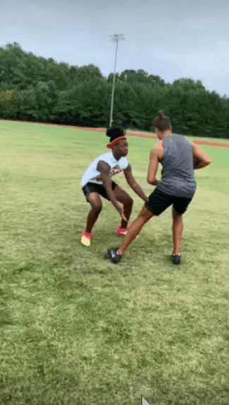 Lion's den tackling drill for rugby style tackling for football