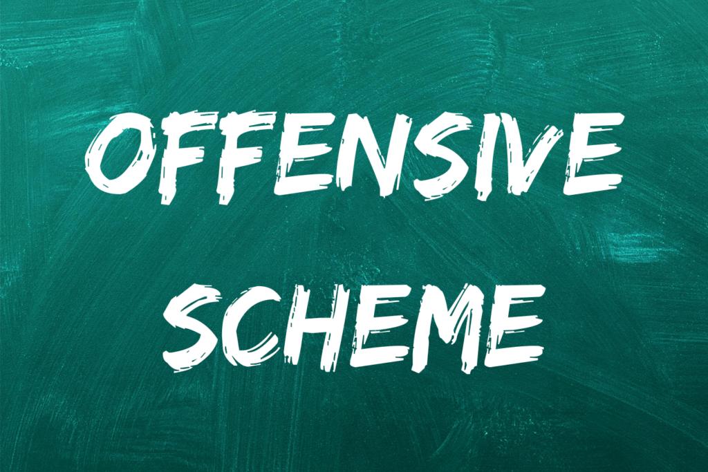 offensive scheme