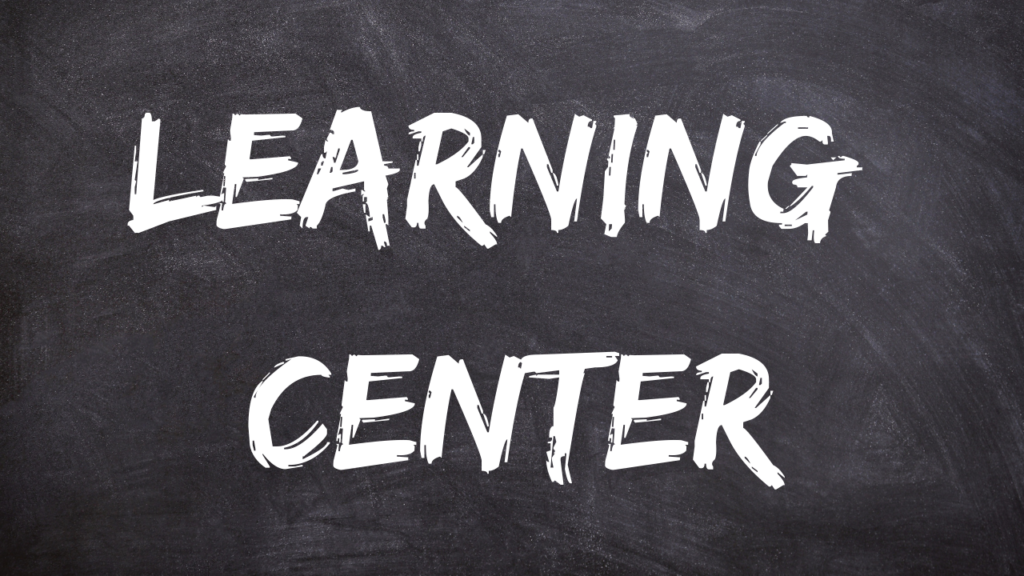 Learning center in football