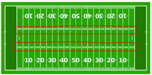 hash marks in football
